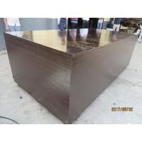 Buy cheap film faced plywood with kangaroo brand , POPLAR CORE, WBP MELAMINE GLUE, BROWN  PRINTED FILM. 18MM*1220MM*24 from wholesalers