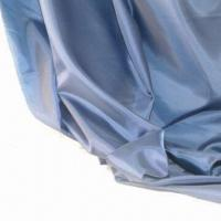 China 190T super soft 100% polyester taffeta-trice, 148cm/58 inches, 50D x 75D, 42 x 35, 53g/m on sale