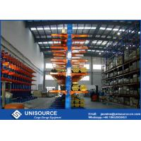 Quality Q235 Steel Cantilever Racking Systems , Industrial Pallet Racking With Free Sample for sale