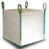 Wholesale White One Ton PP Woven Gravel Bulk Bag For Builder Construction Use from china suppliers