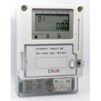 Wholesale IC Card Electricity Prepaid Meter Class 1S Accuracy Single Phase Power Meter from china suppliers