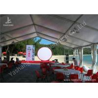 Wholesale Outside Ultraviolet Resistant white Cover Aluminum party Tent Building from china suppliers