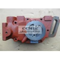 Wholesale Shantui Bulldozer Parts Water Pump with Solid Steel Material FCC / SGS / ISO9001 from china suppliers