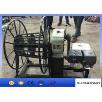 Wholesale 5 Ton Gasoline Engine Wire Rope Take Up Pulling Winch for Stringing Rope from china suppliers