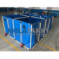 Wholesale 1000L flexible    Fish farming tank in door and out door using water storage tank from china suppliers