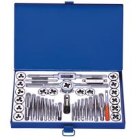 Wholesale Professional Metric 40PCS Tap and Die Sets with HSS , Alloy steel , Carbon Steel from china suppliers
