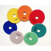 Wholesale Diamond Polishing Pads for stone polishing from china suppliers