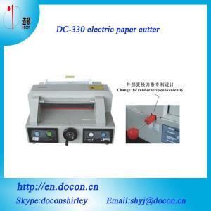 China DC-330 desktop paper guillotine on sale