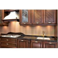 Quality Contemporary Maple Kitchen Cabinets fashion design wood cabinets for sale