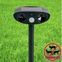 Wholesale Solar Sonic Ultrasonic Electronic Led Animal Dog Cat Pest Insect Repeller Away Chaser Stop from china suppliers