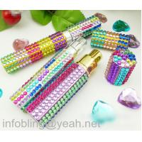 Wholesale self adhesive acrylic rhinestone gem sticker crystal sticker for perfume bottle from china suppliers