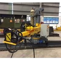 Buy cheap Light Pole Production Line Motorized Control Up Down Rotation / Forward / Reverse Column Boom from wholesalers