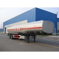 Wholesale 30000L-2 Axles-Carbon Steel Monoblock Tanker Semi-Trailer for Fuel and Water from china suppliers