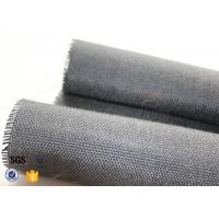 Wholesale 800g Black Vermiculite Coated Fiberglass Fabric For Fire Blanket from china suppliers