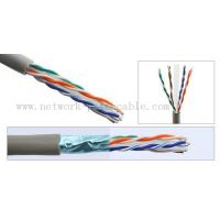Wholesale 1000ft Solid BC/CCA Cat6 FTP Cable 0.58mm Copper Pass Fluke 300 m/roll Grey from china suppliers