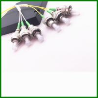 Wholesale 3*3 SM Fused Tree Splitter Single Mode Fiber Coupler With FC / APC Connector from china suppliers