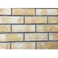 Wholesale 3D12-1 Interior Thin Lightweight Brick Veneer , Outdoor Artificial Brick Tiles For Walls from china suppliers