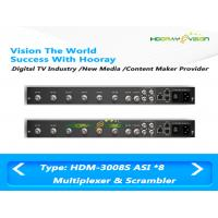 Wholesale DVB 8 ASI Input 2 Output Digital Cable TV Multiplexer Support EPG Data PSI SI Input from china suppliers