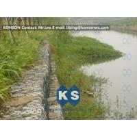 Wholesale Hexagonal Mesh PVC Gabions with Hot Dip Galvanized Wire Double Twisted Mesh from china suppliers