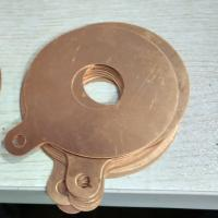Wholesale Copper electrode slice for making ultrasonic cleaning and welding transducer from china suppliers