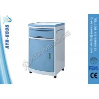Wholesale Medical Hospital Furniture ABS Plastic Bedside Cabinet With Four Silent Wheels from china suppliers