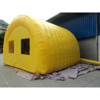 Wholesale Large Yellow 420D Oxford Cloth Inflatable Party Tent For Backyard from china suppliers