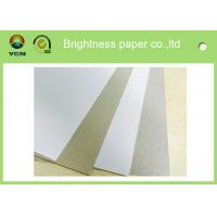 Wholesale Anti Curl Whiteness Grey Back Duplex Board With One Side Offset Printing from china suppliers