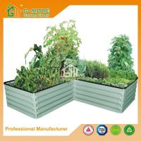 Buy cheap Different Size Ivory Color Easy Assembly 4 Shapes Raise Garden Bed from wholesalers