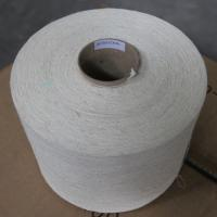 Wholesale Hemp / Combed Organic Cotton Blended Knitting Yarn 21Ne Bleached White on Cone from china suppliers