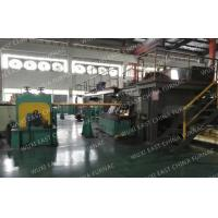 Buy cheap 3-strands  Horizontal Copper Continuous Casting Machine for  95x25 Red Copper Pipes from wholesalers
