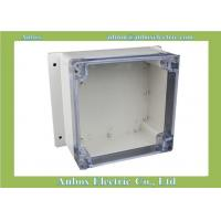 Wholesale 160*160*90mm wall mount OEM & ODM electrical outdoor plastic enclosure with clear lid from china suppliers
