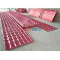Quality 880 / 1040 mm Width PVC Roof Tile Making Machine For Awnings / Antique Buildings for sale