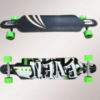 Wholesale Loaded Longboard With 70x51mm PU Wheels from china suppliers