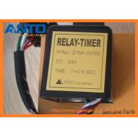 Wholesale 21N4-00762 24V Timer Relay For Hyundai Excavator Spare Parts R80-7, R210LC7H, R210LC-7 from china suppliers