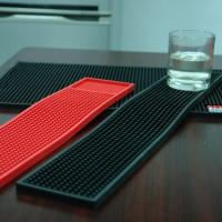 Wholesale Pratical Eco-friendly Single Color Soft PVC Bar Mat With Printed Logo from china suppliers