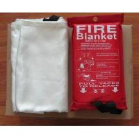 Wholesale 0.43mm 1.2M*1.8M 1.8m*1.8m 1.5*1.5m Hot selling high quality 100% fiberglass fire blanket with high quality from china suppliers