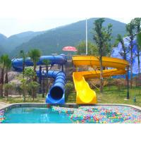 Wholesale Outdoor Kids' Water Slides For Amusement Park / Fiberglass Playground Slide for Aqua Park from china suppliers