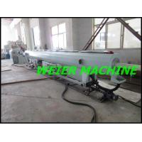 Wholesale 55kw drive motor conical double screw extruder machine for PVC pipe from china suppliers