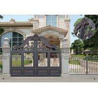 Wholesale Villa Aluminum Electric Garden Door Opening Type With Remote Control Motor Shaft 4.5m from china suppliers