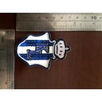 Wholesale customized die-cut shape Fashion Wholesale girls school shorts badge from china suppliers
