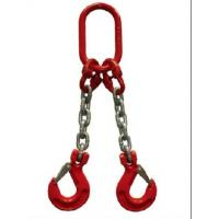 Wholesale Type Dog G80 Two Legs Chain Lifting Sling with Oblong Link and Grab Hook from china suppliers