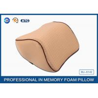 Wholesale High Density Memory Foam Auto Car Neck Support Pillow With Washable Breathable Cover from china suppliers