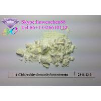 Wholesale Raw powder Oral Turinabol / 4-Chlordehydromethyltestosterone Boldenones steroids from china suppliers