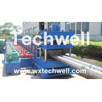 Wholesale 3 Wave Guardrail Roll Forming Machine from china suppliers