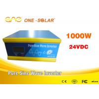 Wholesale 1000W 24v To 220v Inverter Off Grid Pure Sine Wave With FCC Certification from china suppliers
