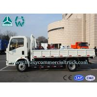 Wholesale 3 Tons Top Configuration 4X2 Side Wall Mini Cargo Truck Low Fuel Consumption from china suppliers
