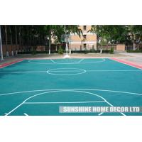 Wholesale DIN Standards Indoor Badminton Court Flooring , Plastic Sport Flooring For School from china suppliers