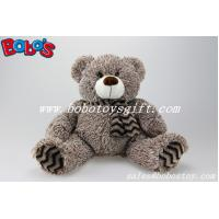 Wholesale Animal Soft Toy The Plush big Tummy teddy bear with scarf from china suppliers