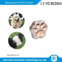 Buy cheap Small pet gps tracking device for dogs with android & IOS app google maps from wholesalers