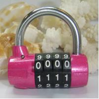 Wholesale Hot! 4 Digital Luggage PadLock from china suppliers